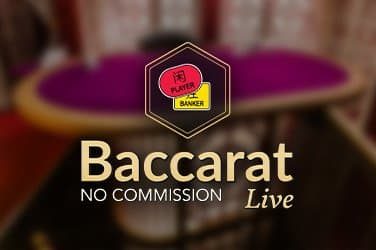 No Commission Baccarat Live