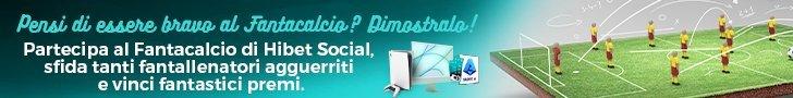 Fantacalcio Hibet Social 728x90